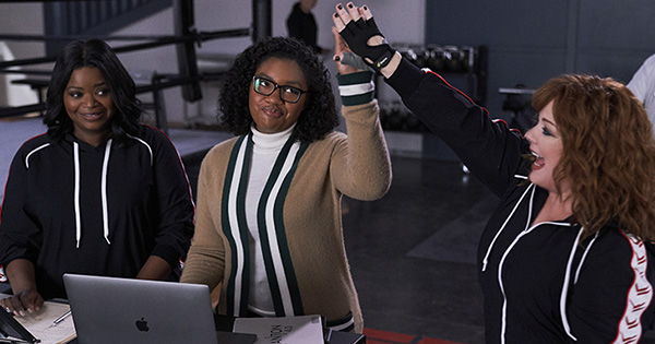 'Thunder Force' Star Taylor Mosby Reveals What It's *Really* Like Working with Octavia Spencer & Melissa McCarthy