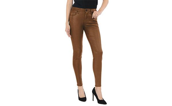 cognac pants