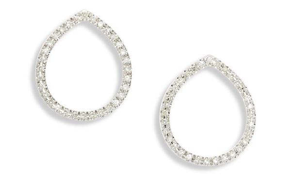 monica vinader diamond earrings